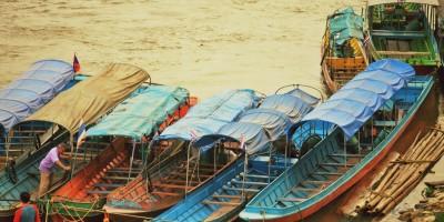 Thailand Båtluffa